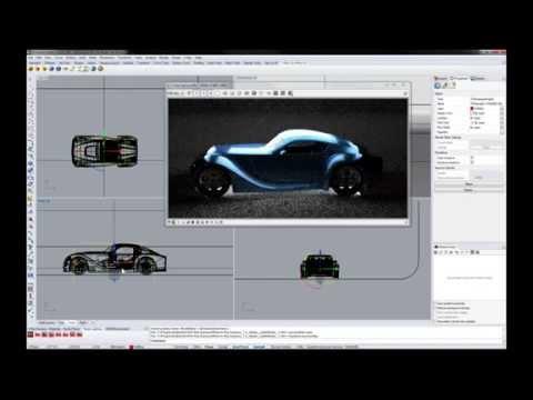 V-Ray for Rhino in Automotive Design