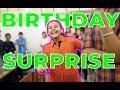 SISTER'S BIRTHDAY SURPRISE !