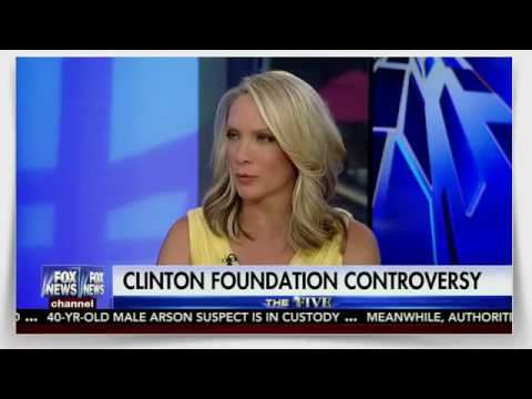 Clinton Foudation Controversy The Five   Fox News Show   August 22, 2016