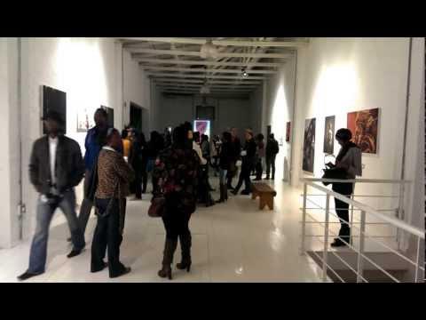 Saddi Khali Decolonising Beauty Exhibition, Johannesburg 2013 - highlight reel