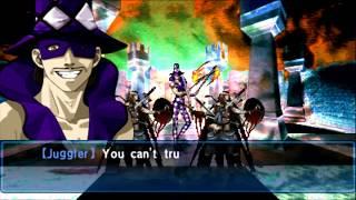 Shin Megami Tensei Devil Summoner Soul Hackers Boss Juggler [HARD]