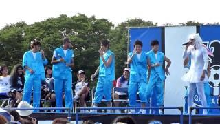 2010/7/4 万博公園でのガンバ大阪ファンミーティングにて.