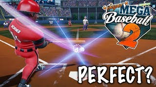PERFECT GAME?! Super Mega Baseball 2 Season Mode Gameplay #1