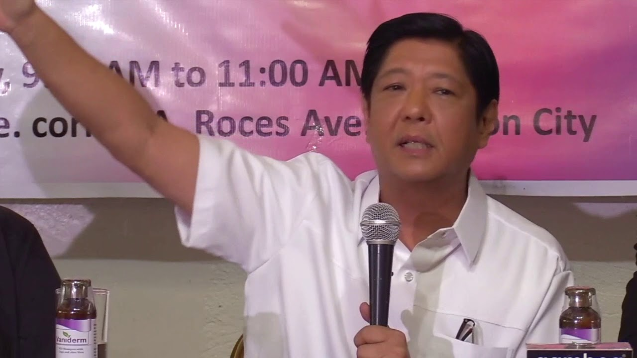 'Smartmatic sold a system of cheating' - Bongbong