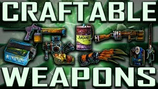 Craftable Weapons - Fallout 3 (Includes DLCs.. Well, it would)