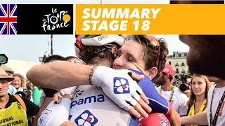 Summary - Stage 18 - Tour de France 2018