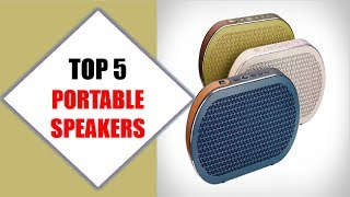 Top 5 Best Portable Speakers 2018 | Best Portable Speaker Review By Jumpy Express