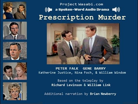 "Audio Drama - ""Columbo"";  PRESCRIPTION MURDER"