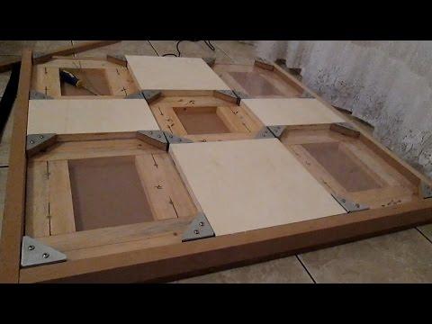 DIY Project - Hardwood PIU Dance Pad (Brief Preview)
