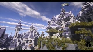 [Minecraft]Timelapse Solo '하늘의 도시' (Imago)