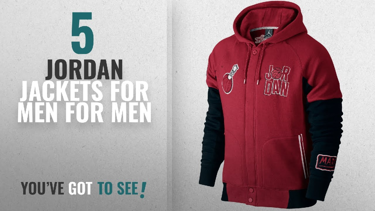 ae2f1541c7be Top 10 Jordan Jackets For Men  2018    Jordan WB Marvin Varsity ...