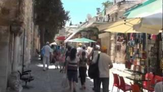 Иерусалим, Старый Город(Фильм - 5 из серии Израиль. Старый Город, Иерусалим, Яффские или Хевронские ворота, улица Кардо, Масленичная..., 2011-10-02T19:28:28.000Z)