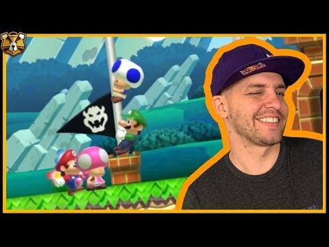 The Best Defense Is A Good Defense! Vs Mode #36: Super Mario Maker 2