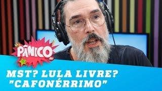 """MST? Lula Livre? """"Cafonérrimo"""", brinca Lobão"""
