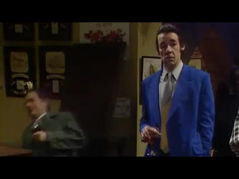 Del Boy falls through the bar - Only Fools and Horses - BBC