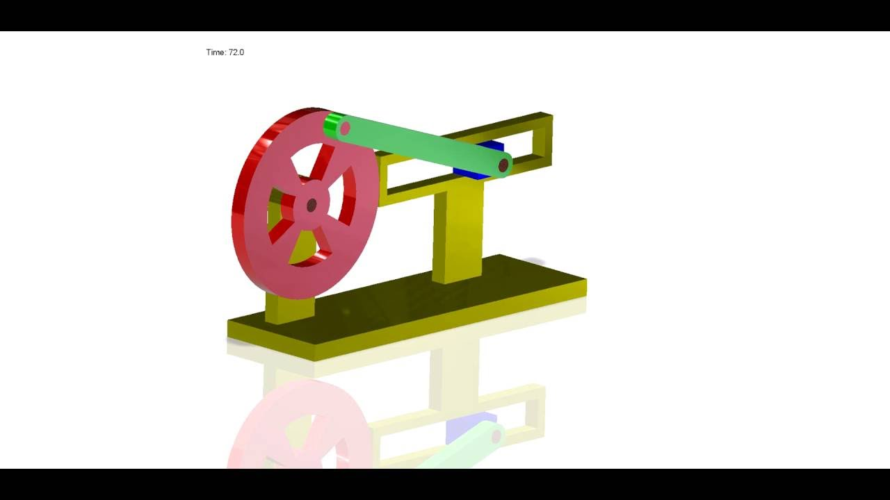 Slider Crank Mechanism Animation