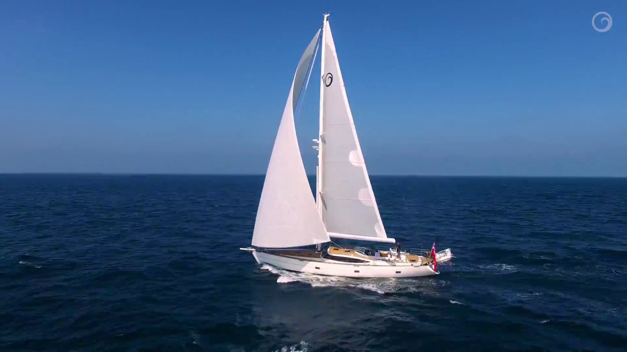 White Dragon | Luxury Sailing Yacht | Successful First Sail After Launch