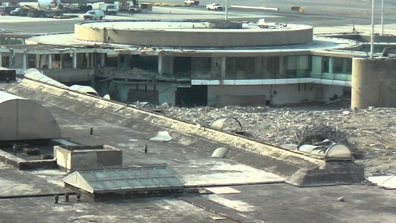 Demolition Of Terminal 6 Jfk Twa Amp Jetblue S Old Home