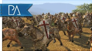 Battle of Dorylaeum (1097AD) First Crusade - Medieval 2 Total War Gameplay