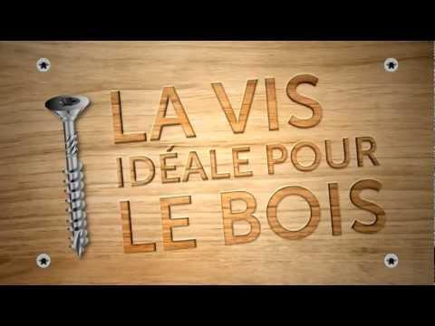 VISSALBOIS - La Vis Idéale Pour Le Bois