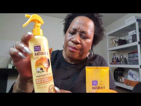 Wash, Talk and Twist With Dark and Lovely Naturale Products