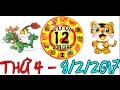 Tử Vi 2017 | Tử Vi 12 Con Giáp 2017: Thứ 4 - 8/2/2017 | Xem Tử Vi Hàng Ngày
