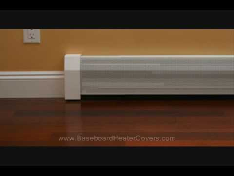 baseboard heater covers the easiest way to renovate ugly old baseboard heaters youtube
