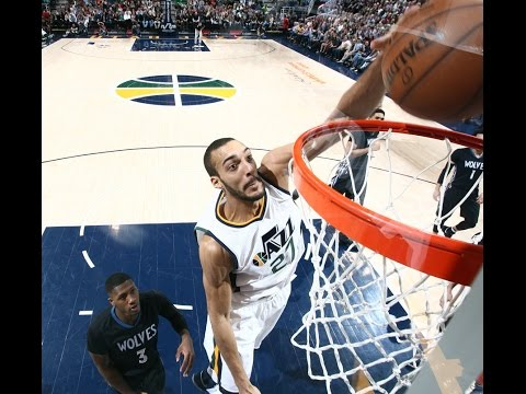 Rudy Gobert's Best of the 2016-2017 Regular Season