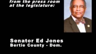 Bertie Co. Senator Ed Jones on helping NC tornado victims