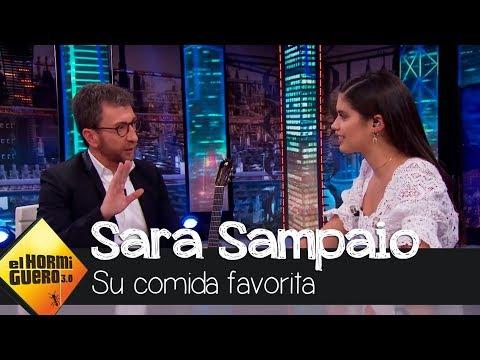 """Sara Sampaio confiesa: """"Me encanta la comida basura"""" - El Hormiguero 3.0"""
