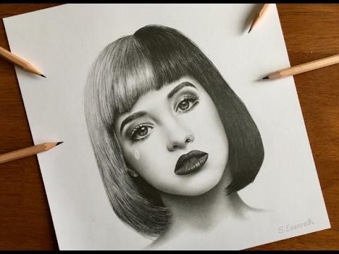 Realistic Graphite Drawing - Melanie Martinez
