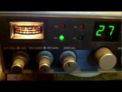 CB radio Westland 707