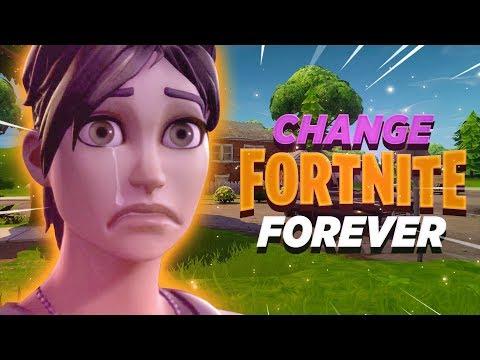 THIS COULD CHANGE FORTNITE FOREVER! - Fortnite: Battle Royale
