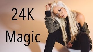 24K Magic - Bruno Mars | Macy Kate Cover