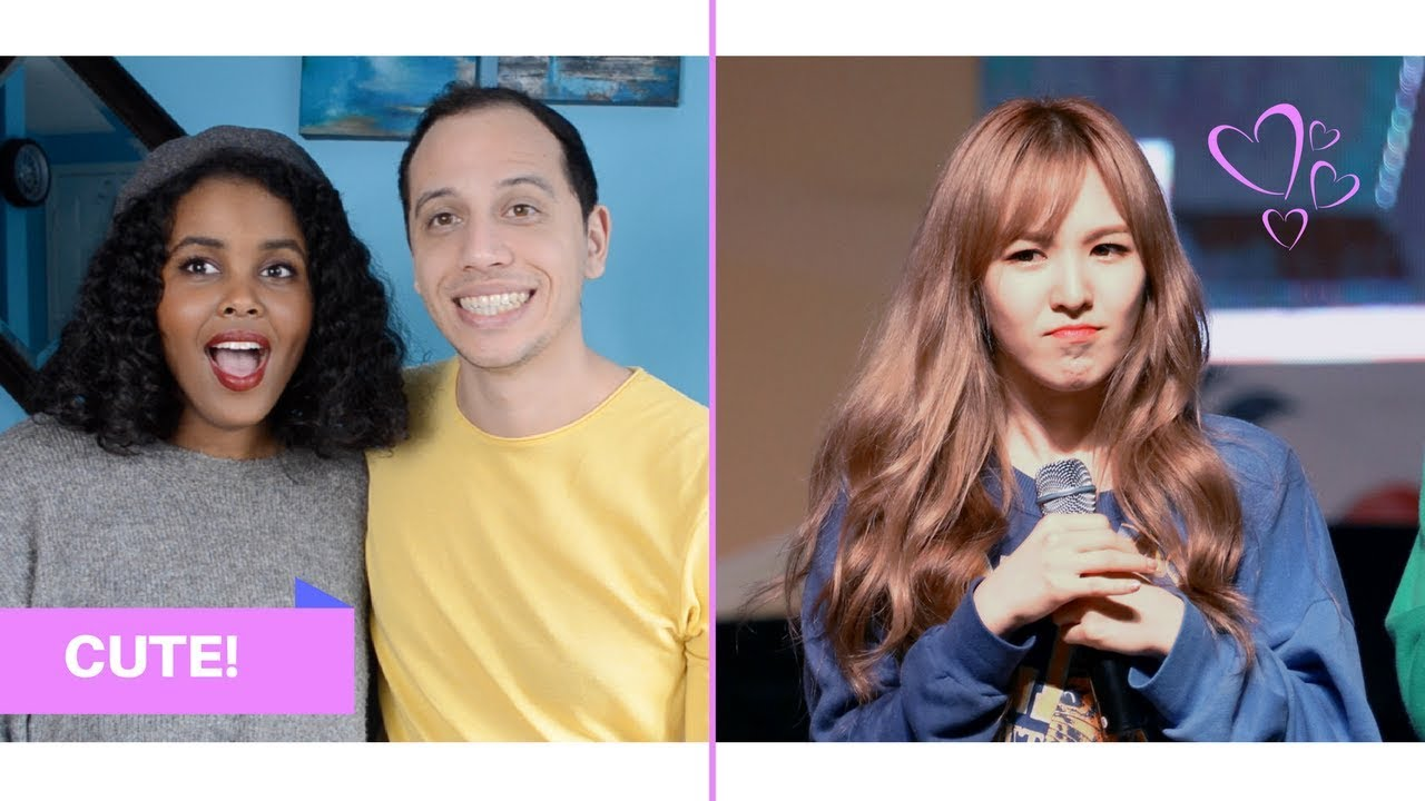 RED VELVET WENDY SPEAKING ENGLISH REACTION (RED VELVET REACTION)