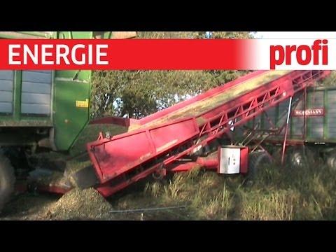 Benas Biogasanlage - Überladeband