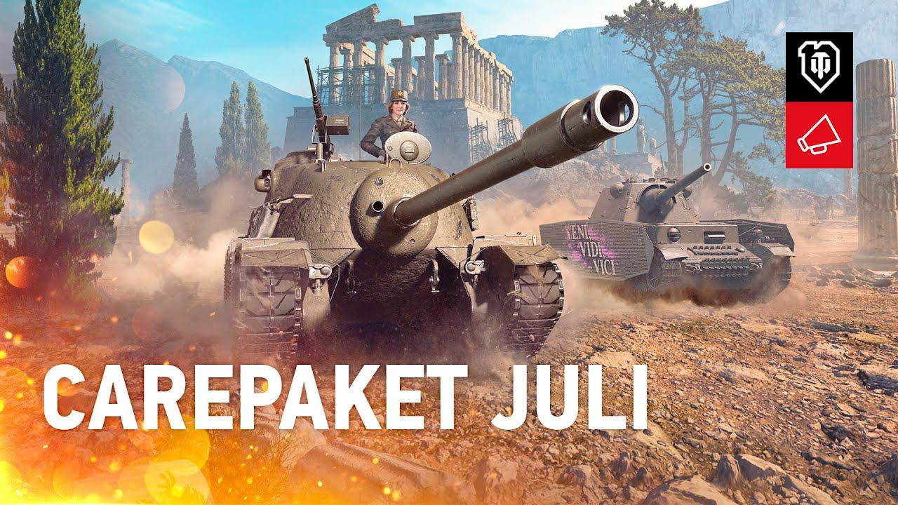 Carepaket Juli mit Twitch Prime [World of Tanks Deutsch]