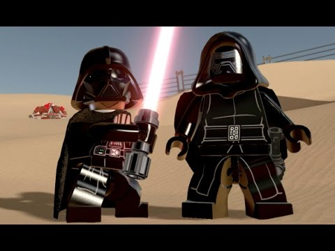 LEGO Star Wars: The Force Awakens - All Playable Characters Unlocked