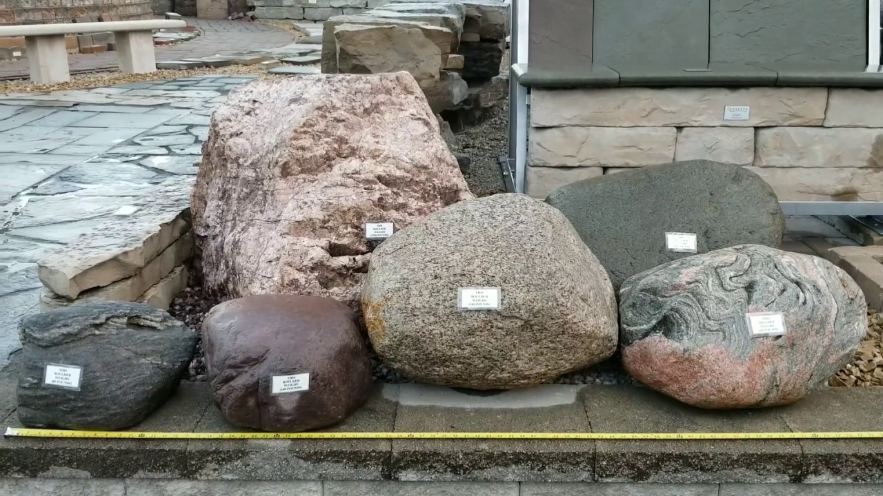 How heavy are landscape BOULDERS and how do I figure ...