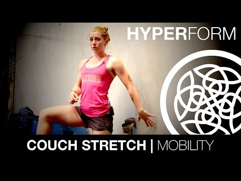 HOW TO DO THE COUCH STRETCH: Hyperform