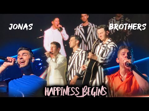 Jonas Brothers: Happiness Begins Tour Miami [1st Show + Front Row Pit] Full Concert HD - 08/07/19