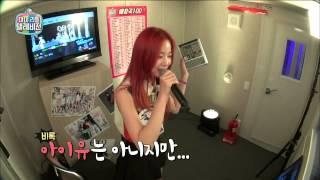 Gambar cover 【TVPP】Solji(EXID) - Good Day(IU), 솔지(이엑스아이디) - 좋은날(IU) 3단 고음 도전! @ My little television