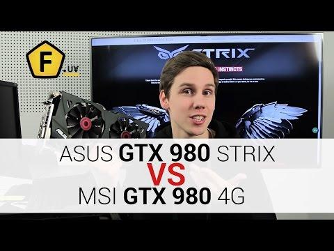 Обзор видеокарты ✔ASUS GTX 980 STRIX OC. ASUS VS MSI
