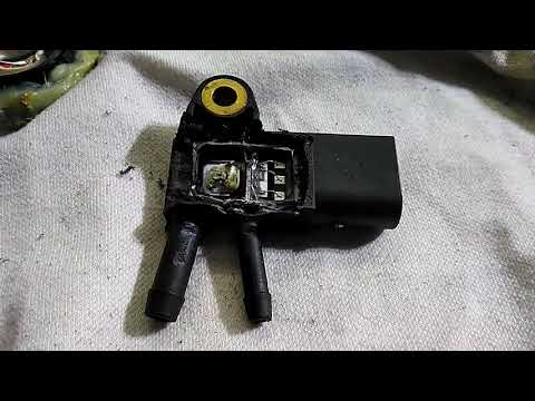 датчик давления сажевого фильтра. чистить или убить.