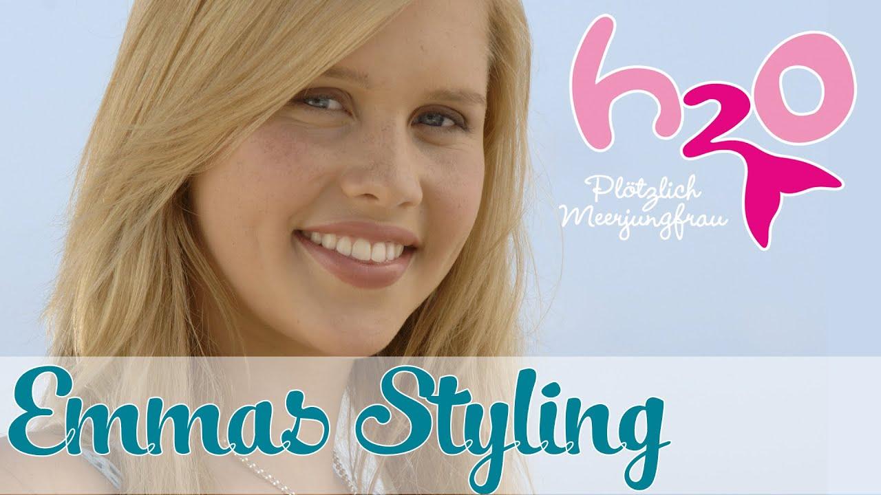 Emmas styling h2o pl tzlich meerjungfrau for Youtube h2o