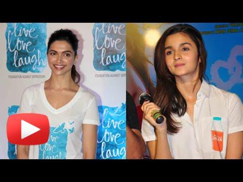 Deepika Padukone Makes Alia Bhatt Feel Safe & Secure | Live Love Laugh Foundation Mp3