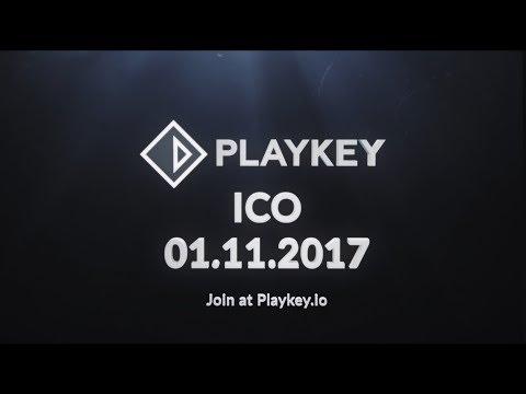 Playkey ICO - Decentralized Cloud Gaming Platform - Token sale: November 1st, .2017