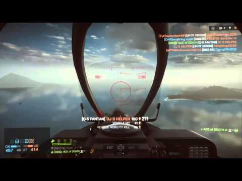 Battlefield 4 JET TV MISSILE HUNTING
