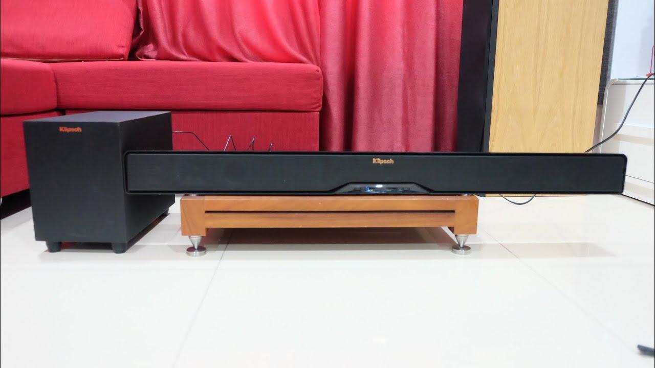 💥💥💥 Loa Soundbar Klipsch R-4B Hàng Fulbox Likenew 99% – Giá 4,5 Triệu