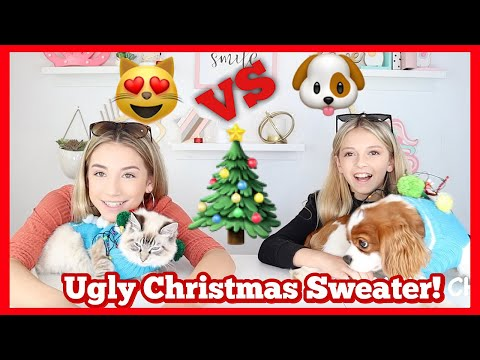 Ugly Christmas Sweater Challenge   Quinn Sisters